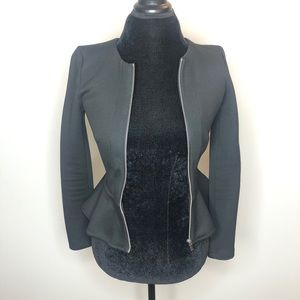 Divided Peplum Jacket
